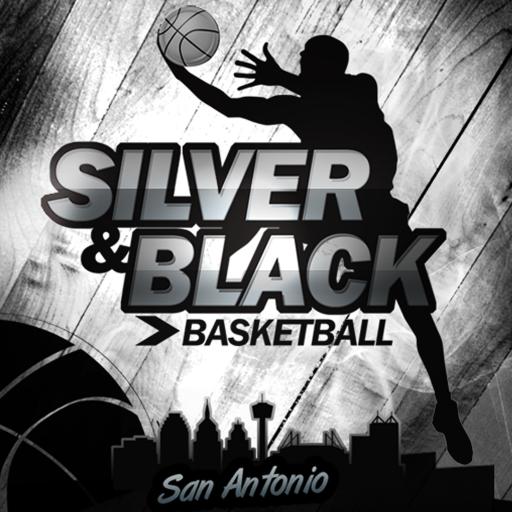 Silver & Black (Silver Nba Spur)