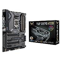 ASUS TUF Z270 Mark 1 - Placa Base (3 x PCIe 3.0, 6 x SATA III, 6 x USB 3.0, LGA 1151, Intel HD Graphics, 8 Canales de Audio, DDR4, ATX)