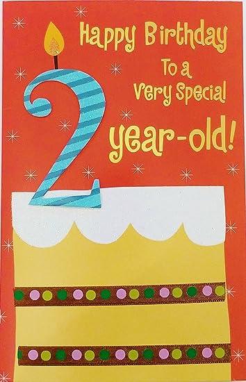 Amazon.com: Feliz Cumpleaños a un muy especial 2 year old ...