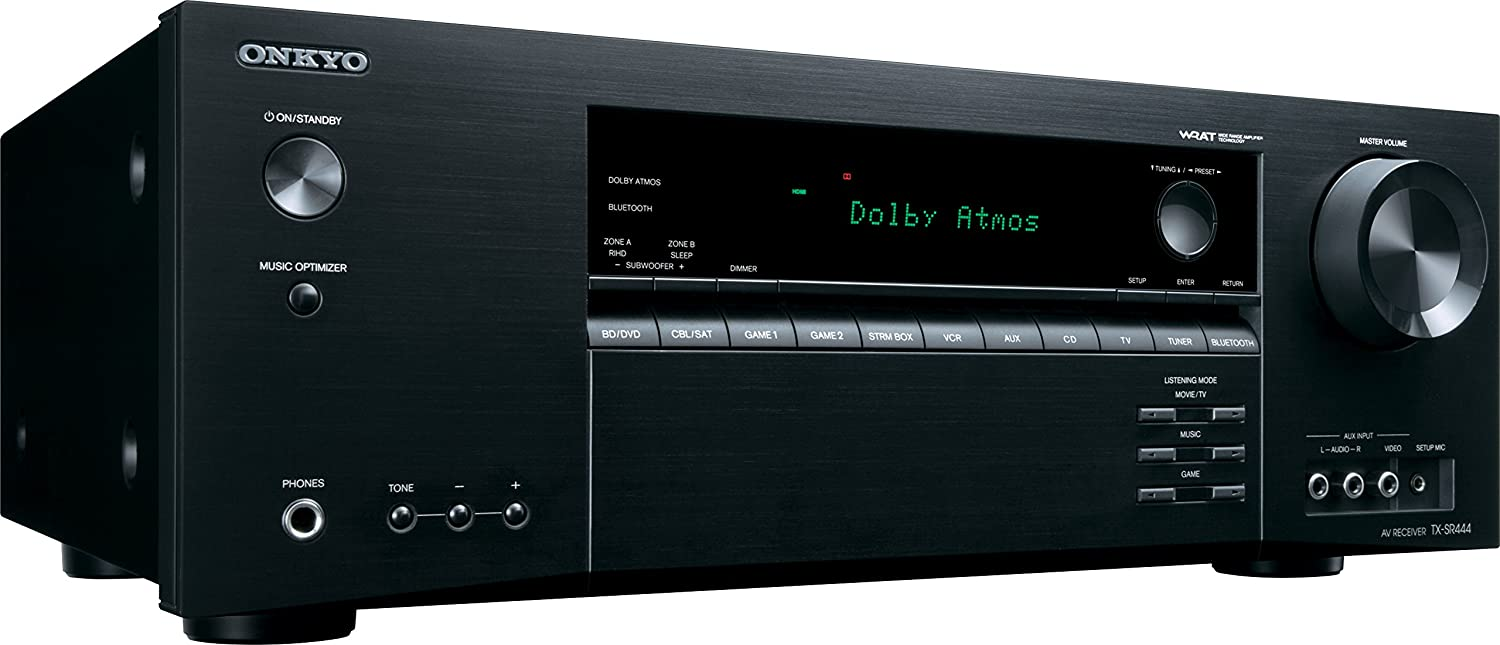 Onkyo Tx Sr444 71 Channel A V Receiver Electronics Ampcircuits Surround Amplifier Circuit With Tda7053