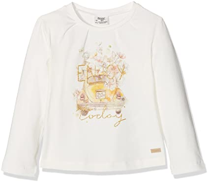 92774bf29d2f Image Unavailable. Image not available for. Color: Mayoral Baby Girl  Printed Long Sleeve T-Shirt ...