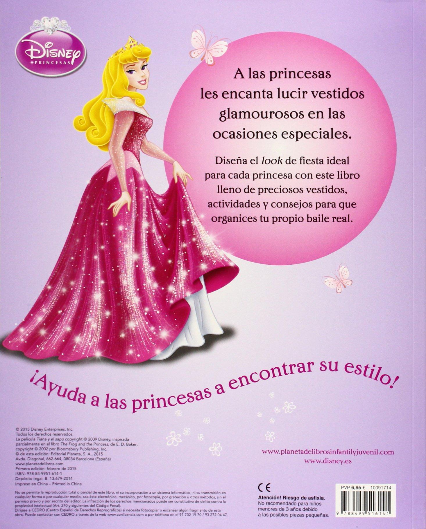 Princesas. Vísteme. Pegatinas brillantes: Más de 100 diseños para combinar con pegatinas de purpurina multicolor Disney. Princesas: Amazon.es: Disney, ...