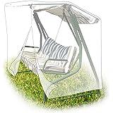 Relaxdays Telo Copertura per Dondolo Giardino 215 X 150 X 150 cm, Verde