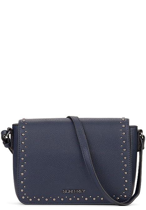 SURI FREY Damen Umhängetasche Karny blau One Size: