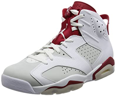 fe0c4bcbd6d Nike Air Jordan 6 Retro, Men's Trainers: Amazon.co.uk: Shoes & Bags