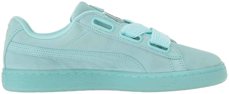 PUMA Women's Suede Heart Reset WN's Fashion Sneaker B01J5NWSBQ 8 M US|Aruba Blue-aruba Blue