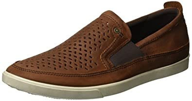 ECCO Men's Collin Perforated Slip On Fashion Sneaker