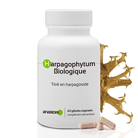 HARPAGOPHYTUM ECOLÓGICO * 400 mg / 60 cápsulas * Antiinflamatorios, Articulaciones (inflamación),