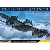 Flying Legends 2019: 16-Month Calendar - September 2018 through December 2019 (Calendars 2019)