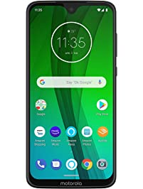 Moto G7 with Alexa Hands-Free – Unlocked – 64 GB – Ceramic Black