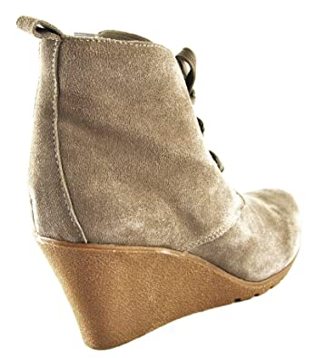 pretty nice a2e70 dd721 Ulla Popken Chaussures Bottes Bottines Talons hauts Taupe 2056 - Marron -  taupe NVZuop,