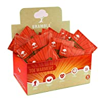Bramble - Foot Toe Warmers Insole, Pocket Gloves x 40 Pairs.