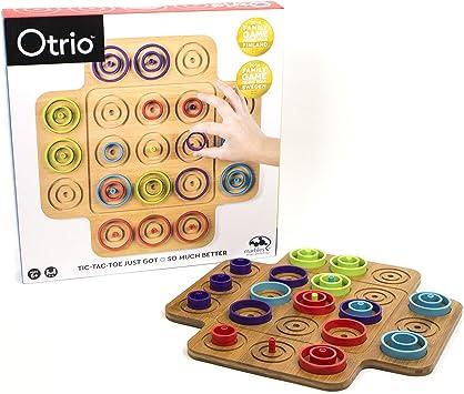 Spin Master Otrio (Wood) Juego de Mesa de Aprendizaje Niños ...