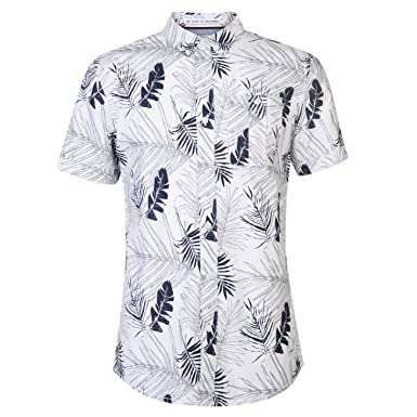 co Mens Deluxe Cal Clothing Soul Amazon Floral Shirt uk Yq6zzAw