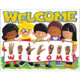 """Trend Enterprises Inc. Sign Language Welcome Trend Kids Learning Chart, 17"""" x 22"""""""