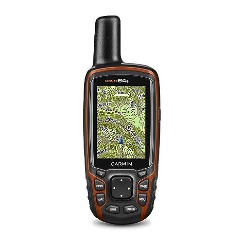 Garmin GPSMAP 64s Handheld Navigator,Black/Red