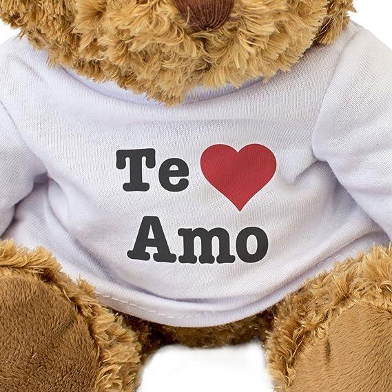 Amazon.com: NUEVO - TE AMO - Osito De Peluche - Adorable Lindo - Regalo Obsequio: Toys & Games