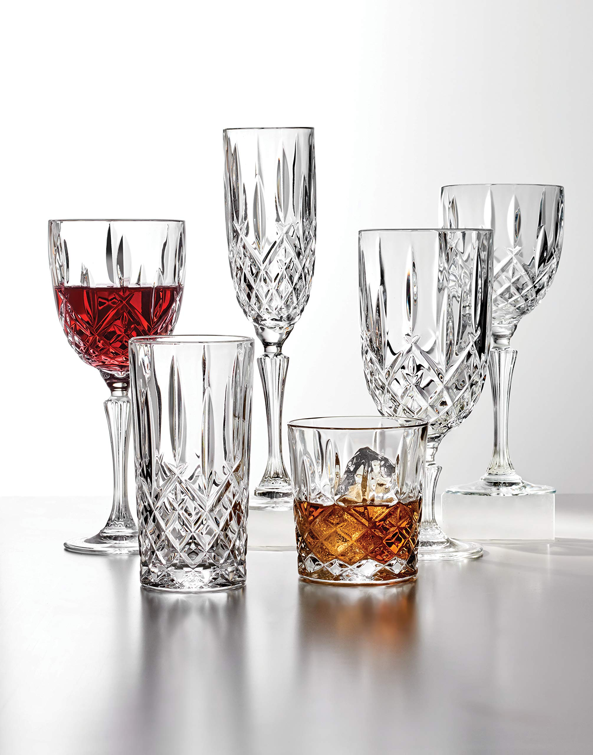 Marquis by Waterford 165118 Markham Double Old Fashioned Glasses, Set of 4 by Marquis By Waterford (Image #4)