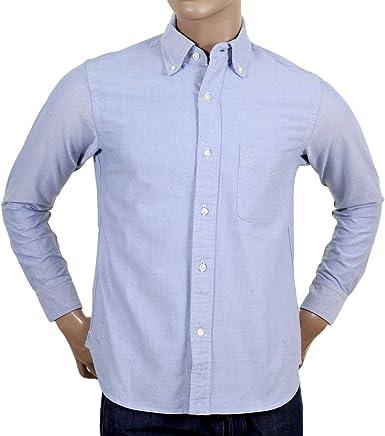 Sugar Cane - Camisa de vestir - para hombre azul azul X-Large ...