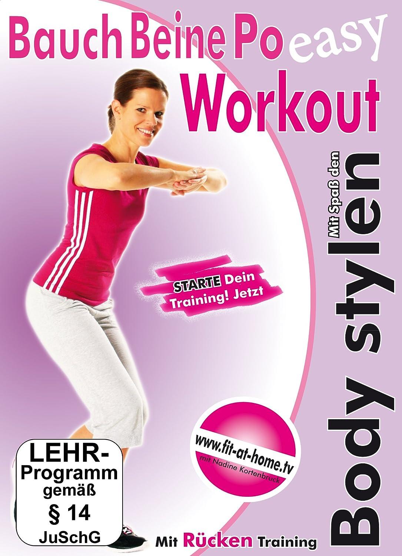 Bauch Beine Po Workout   Mit Spaß den Body stylen Amazon.de ...