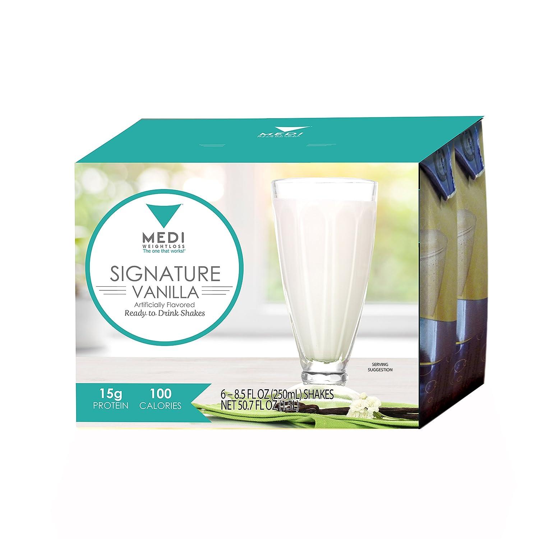 Amazon Com Medi Weightloss Vanilla Protein Shake Ready To Drink