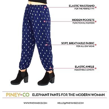 a49f7bfc1e1dc6 Harem Pants for Women | XS-3XL | Thai Elephant Pants | Ultra Soft Boho Pants  at Amazon Women's Clothing store:
