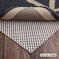 LHFLIVE 2' x 3' Non-Slip Area Rug Pad Extra Thick Rug Gripper for Any Hard Surface Floors, Keep Your Rugs Safe and in Place