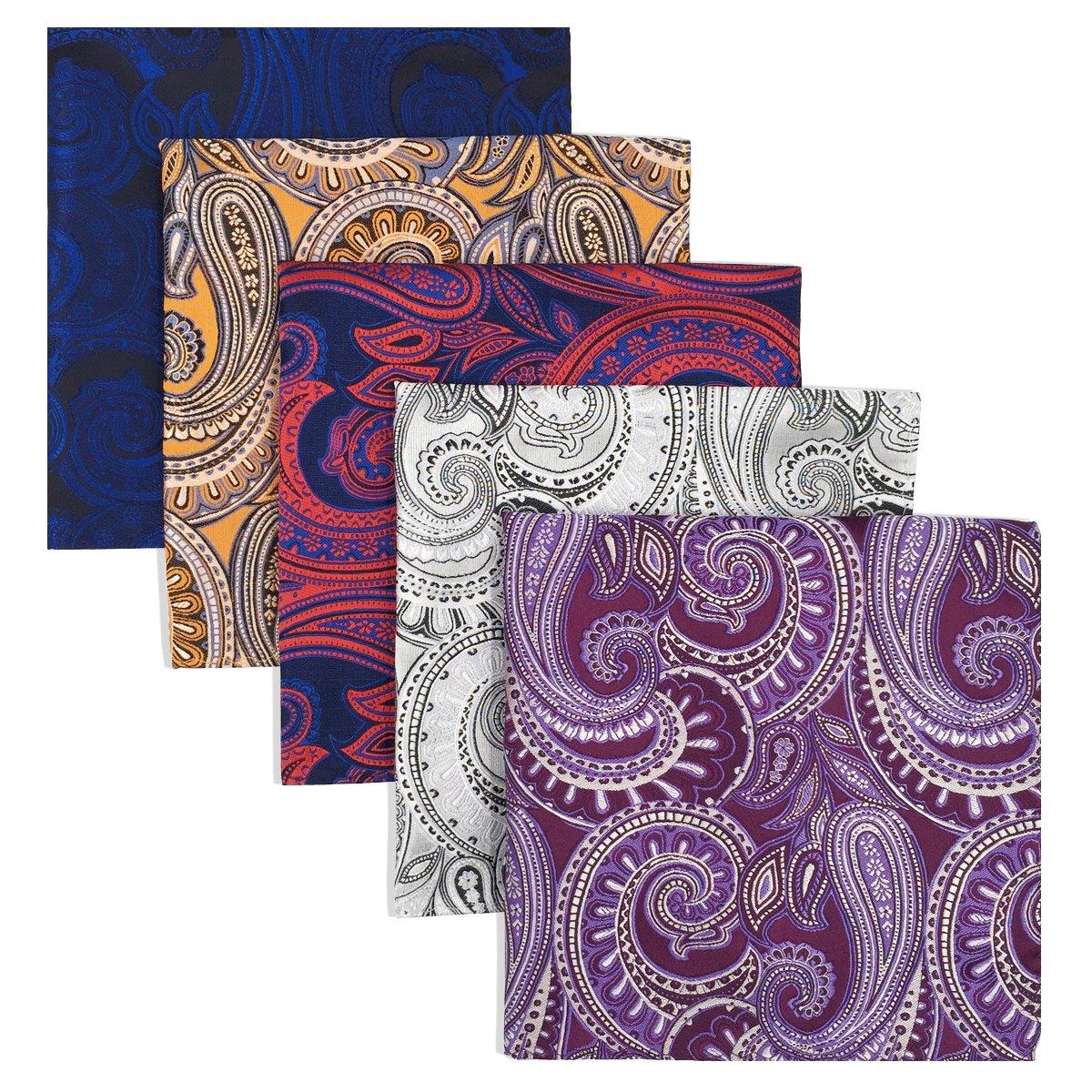 Shlax   Wing - Set di fazzoletti da tasca quadrati fb28b0d5f2af