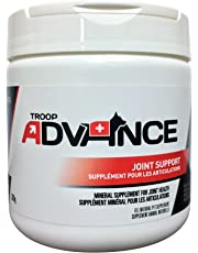 Troop Advance, Joint Support, an All-Natural Mineral Supplement with Chondroitin Sulfate, MSM, Glucosamine HCI, which Promotes Healing of Skin, Bones, Muscles and Connective Tissue in Cats and Dogs, 300g Jar