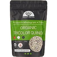 Nature's Nutrition Organic Tricolor Quinoa, 500g