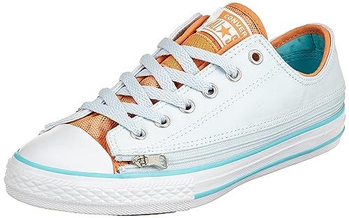 Unisex Ctas Converse blue Bambini Tintnectarine Ox Zip Sneaker Star FqxnWBpOw1