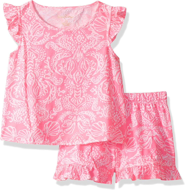 Lilly Pulitzer Girls Big Ramira Set Havana Pink Clawdia