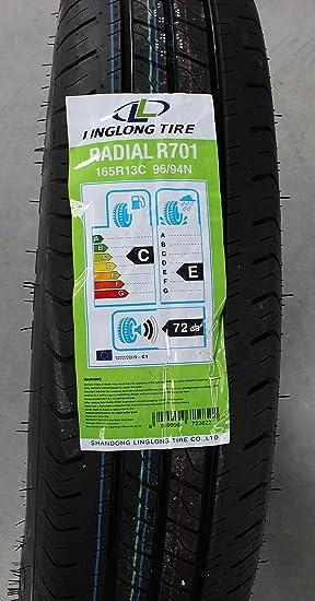 Bundle Set Von 2 Kompletträder Unitrailer 165 R13 C 96 94 N 4 5jx13 Lk 5x112 Für Pkw Anhänger Auto