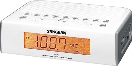 sangean rcr5 digital amfm clock radio