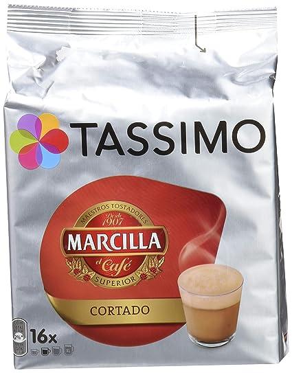 Tassimo Café Marcilla Cortado - 16 Cápsulas: Amazon.es: Amazon Pantry