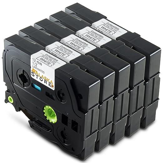 11 opinioni per Alaskaprint 5x Tape cassette compatibile per TZe-231 / TZ-231 Stampanti per