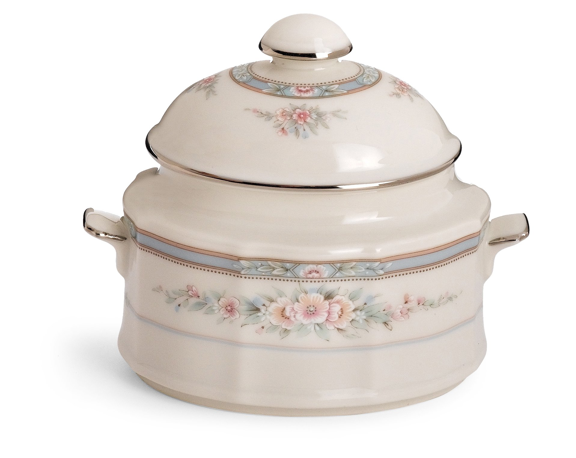 Noritake Rothschild Sugar Bowl with Cover