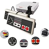Classic Mini Retro Game Console with Built-in 620 Games and 2 Classic Controllers, AV Output Video Games for Kids…