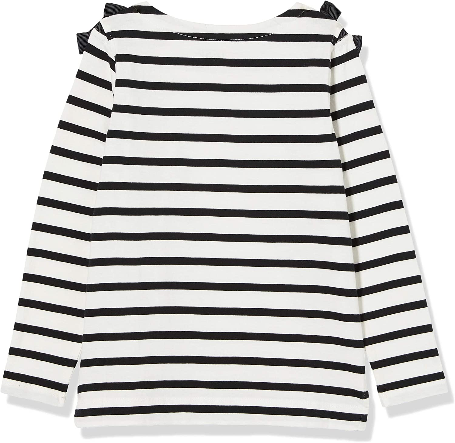 Brand LOOK by crewcuts Girls 3//4 Sleeve Bow Shoulder Top