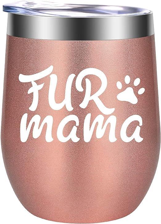 Amazon.com: GSPY - Vaso de vino con diseño de gato y perro ...