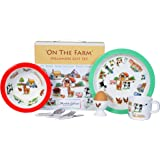 Martin Gulliver Melamine Gift Set - ON THE FARM