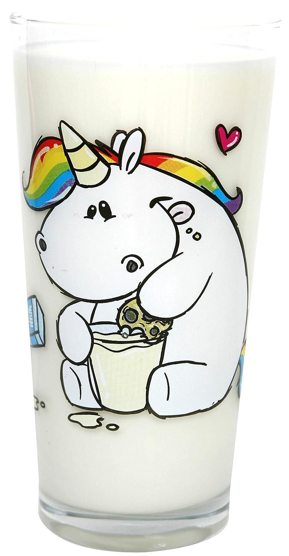 Pummeleinhorn Milchglas inkl. Geschenkbox My Cookie