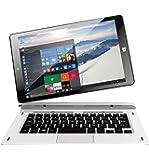"""Thomson THBK1-9.32WIN PC portable hybride tactile 8,9"""" Noir/Blanc (Intel Atom, 1 Go de RAM, Disque Dur 32 Go, Windows 10)"""