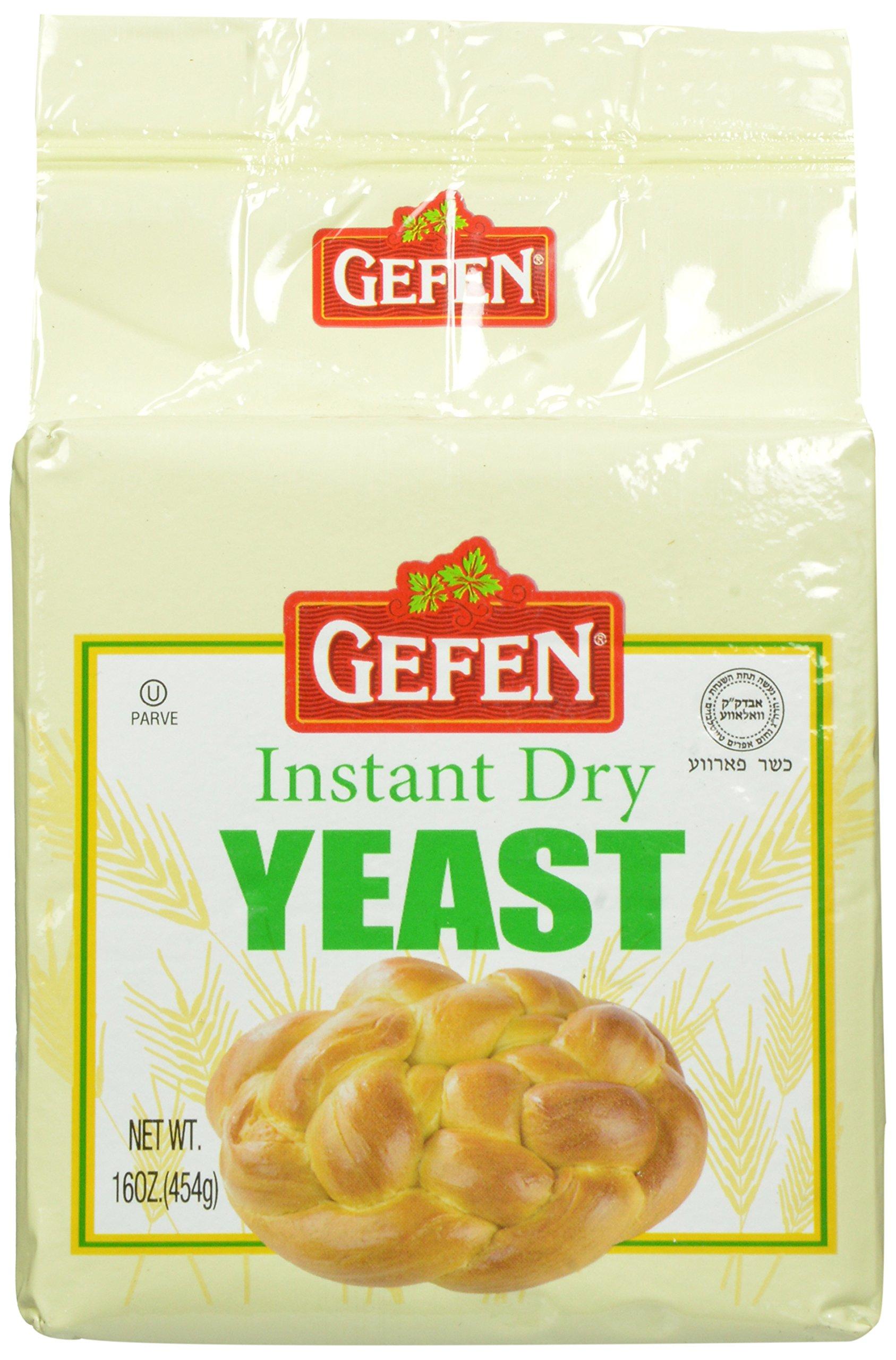 Gefen Dry Yeast, 1 Pound