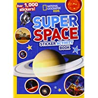 Super Space Sticker Activity Book (National Geographic Kids)