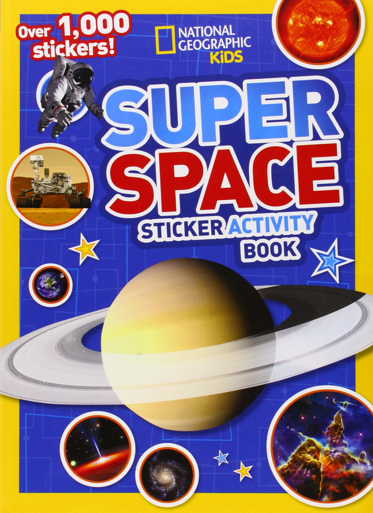 National Geographic Super Sticker Activity product image