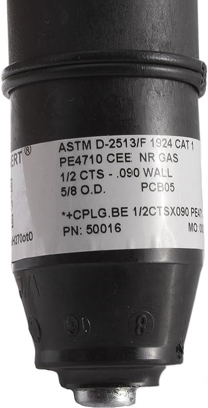 "Elster Natural Gas Permasert 1/"" Stab Coupling Blind End Cap CTS 50045 Shut Off"