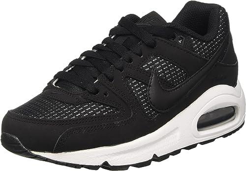 Nike WMNS Air Max Command, Baskets Basses Femme, Noir (Black ...