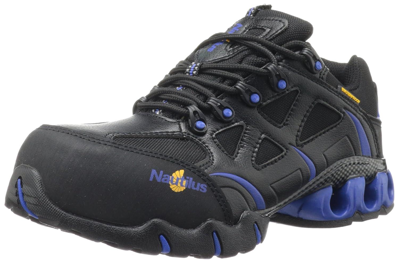 Nautilus Safety Footwear メンズ B009C2YRZ6 7 D(M) US|ブラック/ブルー ブラック/ブルー 7 D(M) US