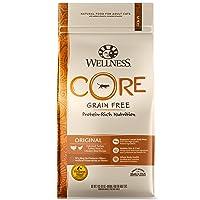 Wellness Core Natural Grain Free Dry Cat Food, Original Turkey & Chicken Recipe